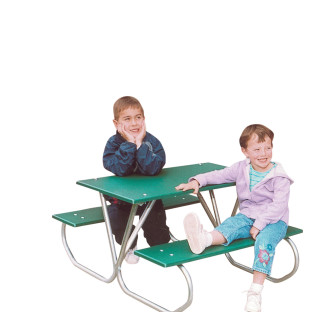 Kids Picnic Table, Green