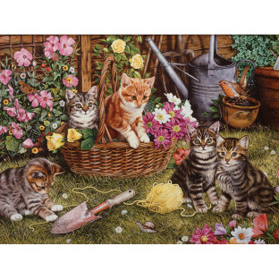 KITTENS JIGSAW PUZZLE 275 PCS