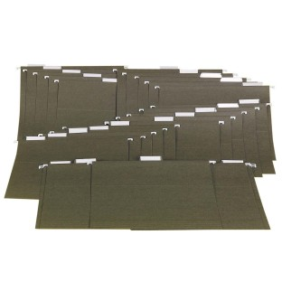 Hanging File Folders 1/5 Cut (Box/25)