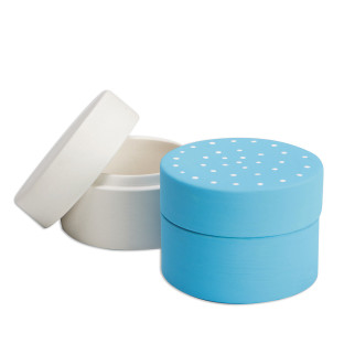 Color-Me™ Ceramic Bisque Round Box
