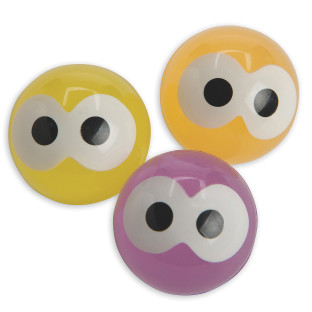 Glow-in-the-Dark Eyes High Bounce Balls