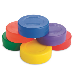 Each puck weighs only 24 grams.