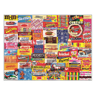 Vintage Candy Wrappers Puzzle, 300 Pieces