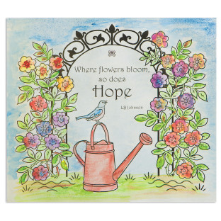 Paint Palette Craft Kit: Hope Garden