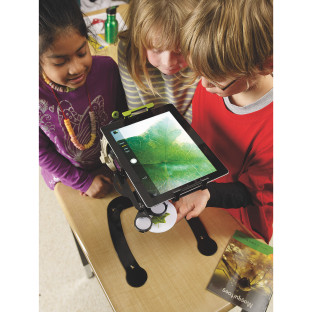 Dewey Document Camera Stand & Microscope Light