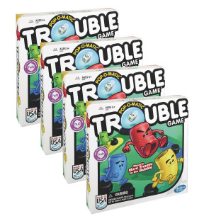 TROUBLE CASE PACK OF 4