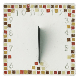 MOSAIC SUNDIAL CRAFT KIT PK6