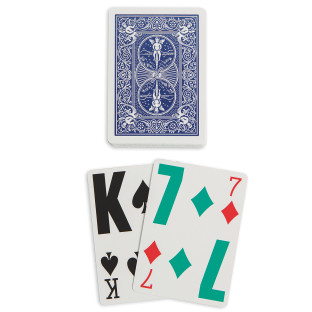 Low-Vision Playing Cards