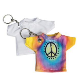 Color-Me™ T-Shirt Key Rings