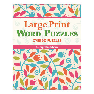 Large Print Word Puzzle Book