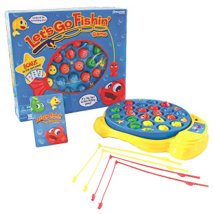 Buy let s go fishin and go fish combo game at s s worldwide for Lets go fishing