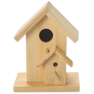 BIRD HOUSE W/PERCH