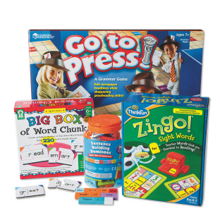 Grammar And Sentence Building Easy Pack, Grade 1