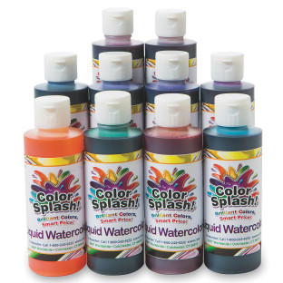 8-oz. Color Splash!® Liquid Watercolor Assortment