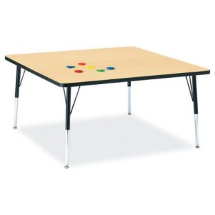 ACTIVITY TABLE MAPLE TOP 48 IN X 48 IN