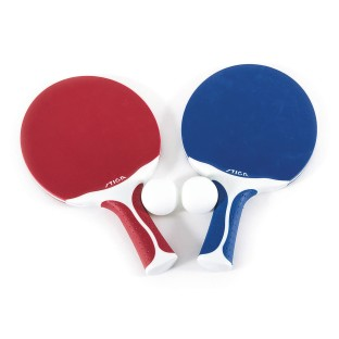 Stiga® Flow 2 Player Indoor/Outdoor Performance Table Tennis Racket Set
