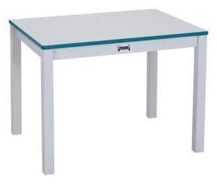 Rainbow Accents® Rectangle Table, 22-1/2