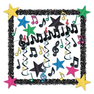 Musical Notes Decorating Kit