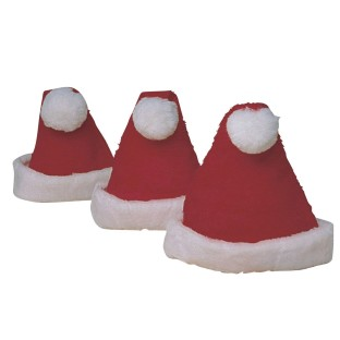 Santa Hats (pack of 3)