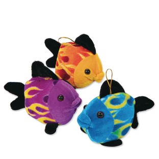 Plush Flame Fish (pack of 12)