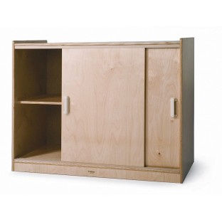 Storage Cabinet With Sliding Doors