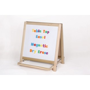 Magnetic Dry-Erase Tabletop Easel