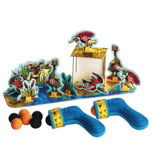 Pluck the Duck Shooting Gallery Game