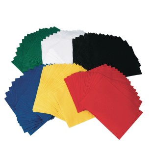 Assorted Color Felt Sheets (pack of 96)
