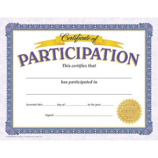 Participation Award Pack (pack of 30)