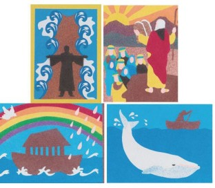 Bible Stories Sand Art (pack of 12)