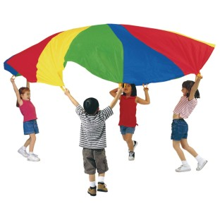 PARACHUTE 45FT NYLON WITH HANDLES
