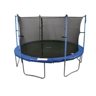 Enclosed Trampoline, 12'