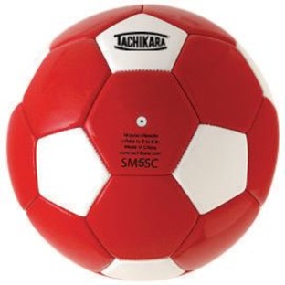 Tachikara® Recreational Soccer Ball Size 5 Red