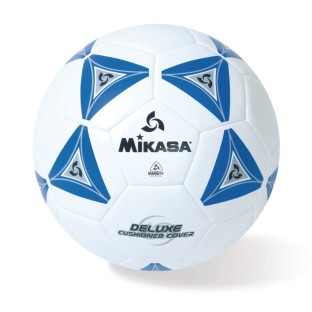 Mikasa® Soft Soccer Ball Size 3 Blue/White