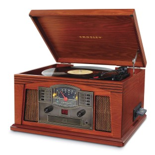 Crosley® Lancaster Entertainment Center with Bluetooth
