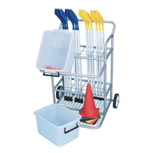 Hockey Equipment Cart
