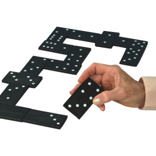 Jumbo Double Six Domino Set