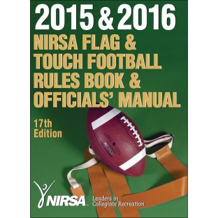 NIRSA Flag & Football Rules Book & Officials' Manual
