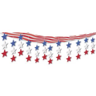 Stars and Stripes Ceiling Decor