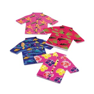 Tropical Shirt Notepads