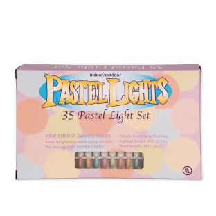 35 LIGHT MINI SET/PASTEL COLORS