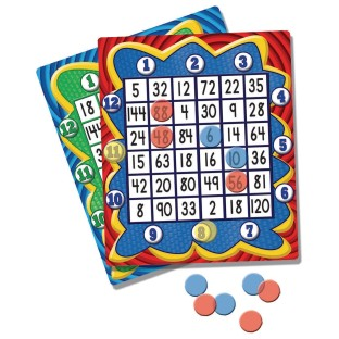 Multiplication 4 In A Row Game
