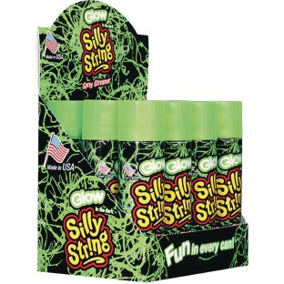 buy glow in the dark silly string 3 oz at s s worldwide