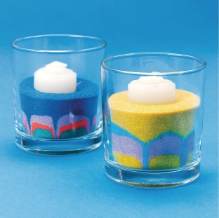 Sand Art Candles Craft Kit
