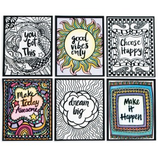 Think Positive Velvet Art Posters