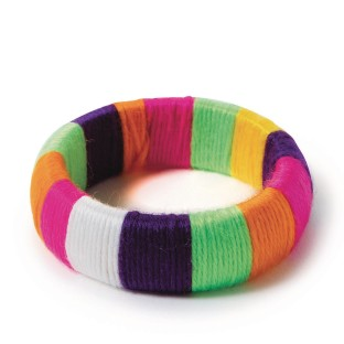 Yarn Bangle Bracelet Craft Kit