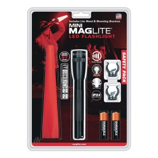 Mini MagLite® LED Safety Wand Kit