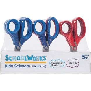 "SchoolWorks® 5"" Safety Tip Pointed Scissors"
