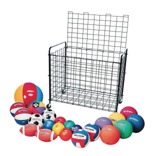S&S® Classic Equipment Cart With Balls Easy Pack