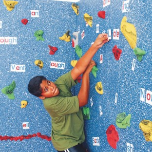 Magna® Wall Climbing Package, 8'H x 20'L with Locking Mats